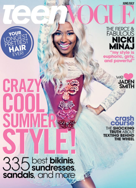 3 of our pieces are featured in new issue of Teen Vogue